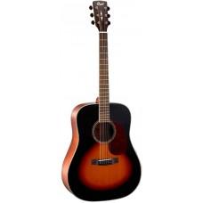 Cort EARTH100 SB Earth Series - Акустическая гитара, санберст