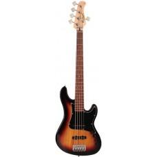 Cort GB35JJ 3TS GB Series Бас-гитара 5-струнная, санберст