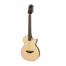 CRAFTER CT-120-12/EQN + чехол - двенадцатиструнная гитара