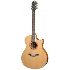 CRAFTER GAE-15/N + Чехол - электроакустическая гитара
