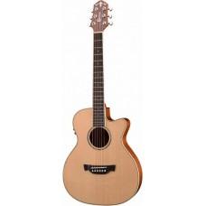 CRAFTER TRV-23EQ/N - гитара с подключкой  вестерн 3/4