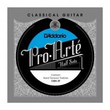 D'ADDARIO CBH-3T - комплект первых струн для классической гитары, сильное натяжение