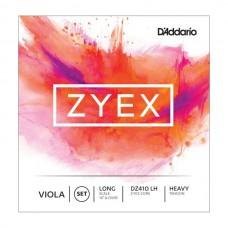 D'ADDARIO DZ410 LH Zyex струны альтовые, Heavy, Long Scale