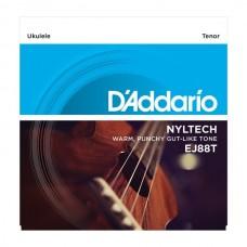D'ADDARIO EJ88T струны для укулеле Tenor, серия Nyltech