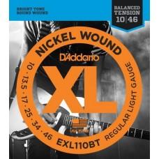 D'ADDARIO EXL110BT струны для электрогитары