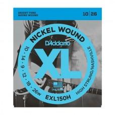 D'ADDARIO EXL150H - струны для электрогитары, 10-26