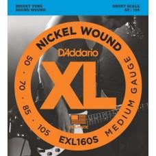 D'ADDARIO EXL160S - струны бас-гитары, 50-105