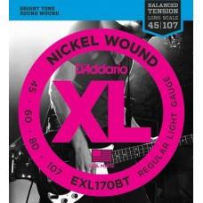 D'ADDARIO EXL170BT струны для бас-гитары