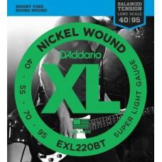 D'ADDARIO EXL220BT струны для бас-гитары