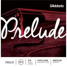 D'ADDARIO J1010 3/4M - струны для виолончели 3/4, medium