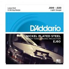 D'ADDARIO EJ60 струны для банджо 9-20