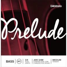 D'ADDARIO J610 3/4M струны для контрабаса Prelude,  Medium