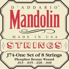 D'ADDARIO J74 струны для мандолины