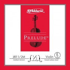 D'ADDARIO J811 1/2M prelude струна скрипичная 1/2 medium, E
