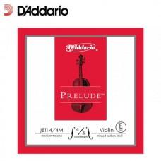 D'ADDARIO J811 4/4M prelude - струна скрипичная 4/4 medium, E