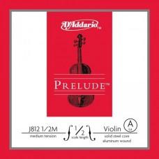 D'ADDARIO J812 1/2M prelude струна скрипичная 1/2 medium, A
