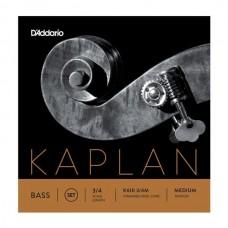 D'ADDARIO K610 3/4M струны для контрабаса Medium