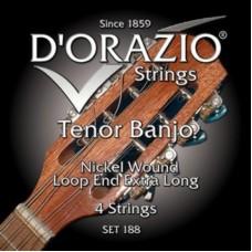 D'ORAZIO 188 Nickel wound Струны для банджо