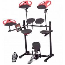 Ddrum DD BETA XP- Электронная барабанная установка (модуль, 5 пэдов, 3 тарелки, рама, 2 педали))