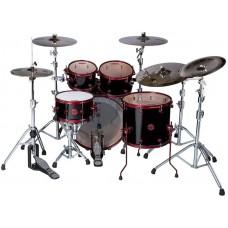 Ddrum REFLEX 522 BLK RED - ударная установка (2 коробки) 5 барабанов ( без тарелок и Hardware)