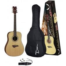 DEAN AK48 PK - комплект акустическая гитара, чехол и аксессуары
