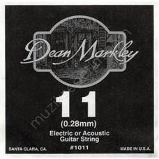 DEAN MARKLEY 1011 Струна первая 0,11
