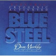 DEAN MARKLEY 2555 Blue Steel -струны для электрогитары (8% никел. покрытие,заморозка) толщина 12-54