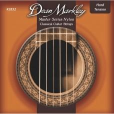 DEAN MARKLEY 2832 - Master Series HARD Tension, струны для классической гитары, нейлон