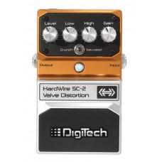 DIGITECH HARDWIRE SC-2 DISTORTION гитарная педаль эффектов дисторшн