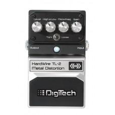 DIGITECH HARDWIRE TL-2 METAL DISTORTION гитарная педаль эффектов метал дисторшн