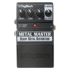 DIGITECH XMM METAL MASTER. METAL DISTORTION моделирующая педаль эффектов