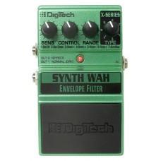 DIGITECH XSW Synth Wah педаль для гитары, синтезатор WAH, 7 типов
