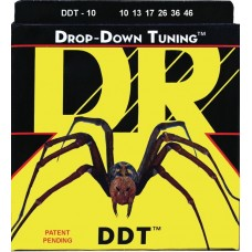DR DDT-10 DROP-DOWN TUNING Струны для электрогитары