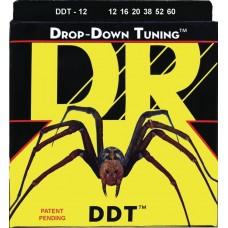 DR DDT-12 DROP-DOWN TUNING (12-60) - струны для электрогитары