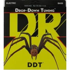 DR DDT-50 (50-110) DROP-DOWN TUNING - струны для бас-гитары