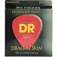DR DSA-10 Dragon Skin Струны для акустических гитар