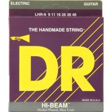 DR LHR-9 HI-BEAM Струны для электрогитары