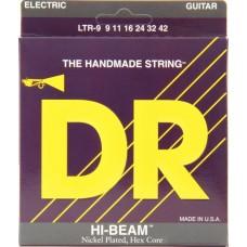 DR LTR-9 HI-BEAM Струны для электрогитары