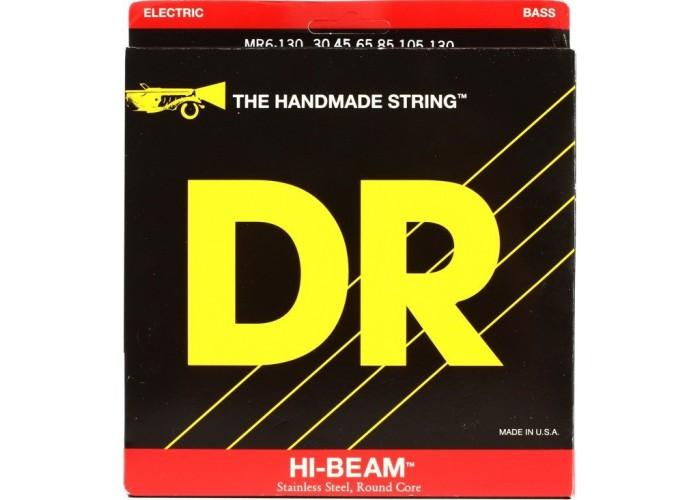 DR MR6-130 (30-130) HI-BEAM - струны для 6-струнной бас-гитары