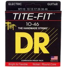 DR MT-10 TITE-FIT Струны для электрогитары
