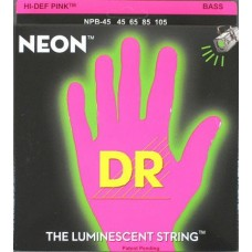 DR NPB5-45 NEON Струны для бас-гитары