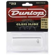 DUNLOP 213 - слайд гитарный 23х32х69, стеклянный, тяжёлый