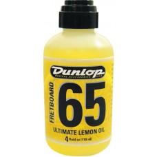 DUNLOP 6554 - лимонное масло для ухода за накладкой грифа