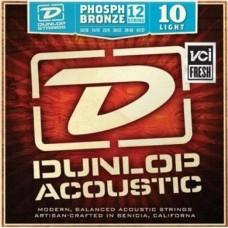 Dunlop DAP1047J струны для 12-ти струнной акустической гитары Phosphor Bronze Light 10-47