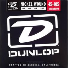 DUNLOP DBN 45-105 Nickel Plated Steel Bass - струны для бас-гитары