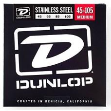 Dunlop DBS45105 струны для бас гитары сталь 45-105