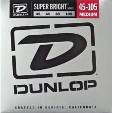 Dunlop DBSBS45105 струны для бас гитары Super Bright сталь 45-105