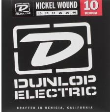 Dunlop DEN1046 - струны для электрогитары, никель, Medium, 10-46