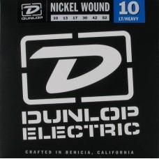 Dunlop DEN1052 - струны для электрогитары, никель, Light/Heavy, 10-52