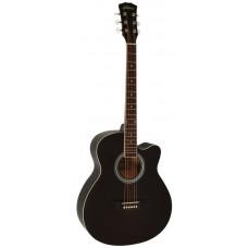 Elitaro E4010C BK - акустическая гитара